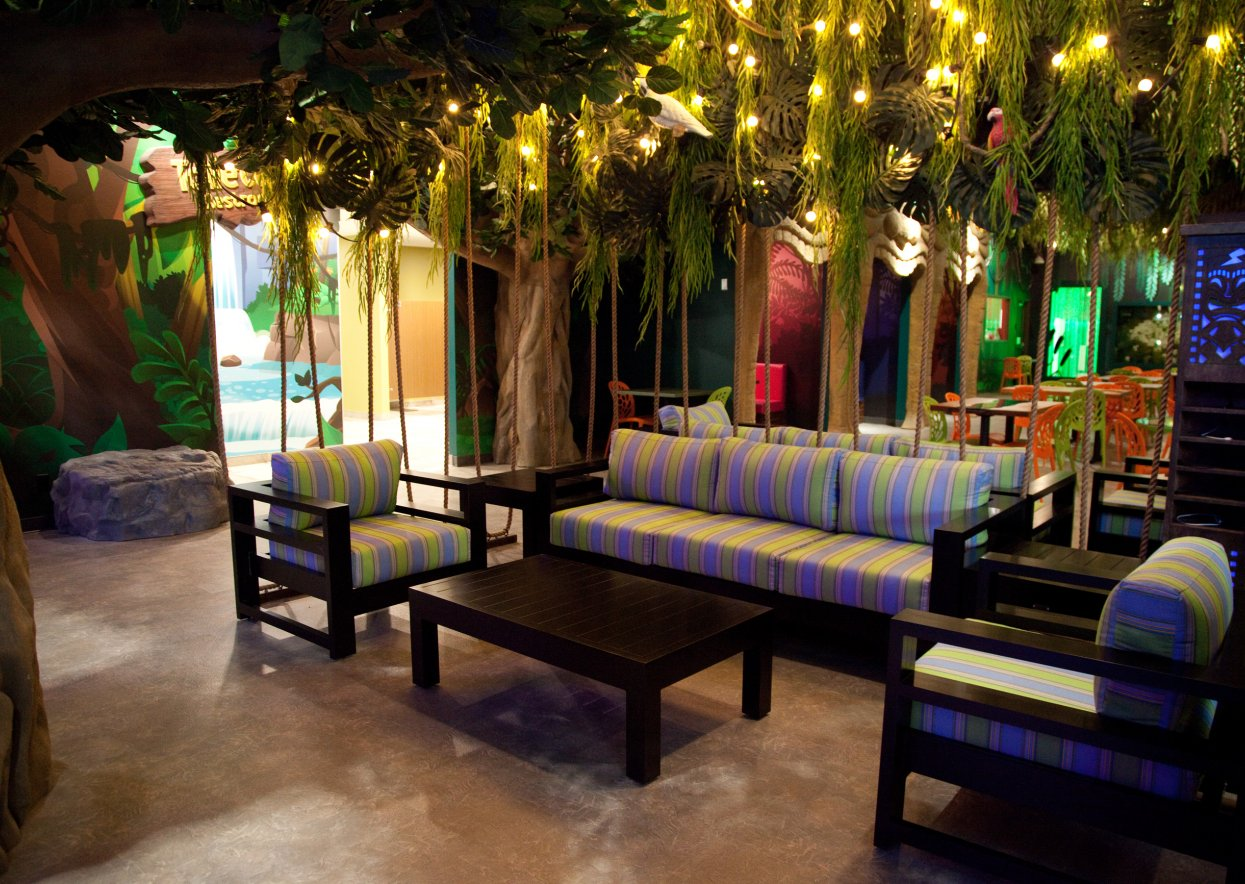 Themed Lounge area